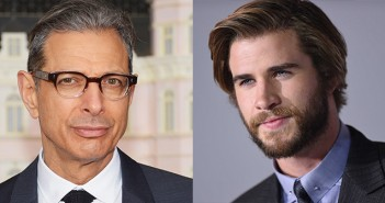 Jeff Goldblum and Liam Hemsworth Independence Day 2