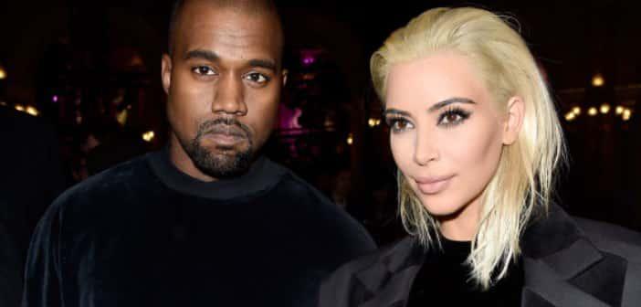 Kim Kardashian Goes Platinum Blonde For Paris Fashion Week 2