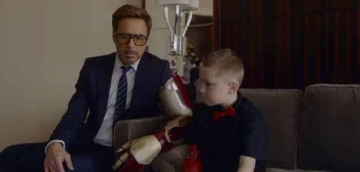 Robert Downey Jr. Does A Good Deed And Gifts Bionic Prosthetic Arm To 7-Year-Old