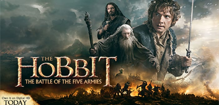 The Hobbit The Battle of The Five Armies - Digital Giveaway