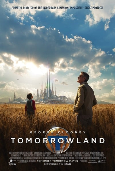 Tomorrowland 2015 movie poster