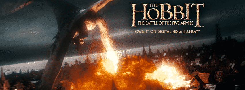 The Hobbit The Battle of The Five Armies Blu-ray Giveaway! 2