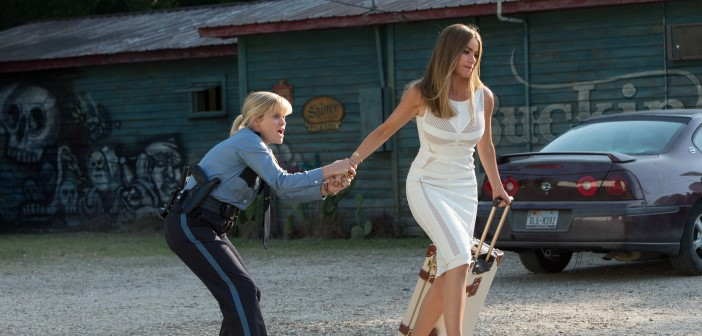 Sofia Vergara & Reese Witherspoon Starring In HOT PURSUIT - Official Poster 2