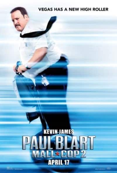 paul blart 1 poster