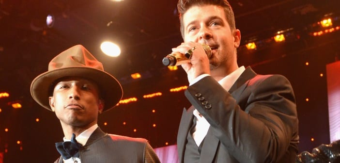 Jury Orders Robin Thicke and Pharrell Williams to Pay $7 Million Over 'Blurred Lines' 2