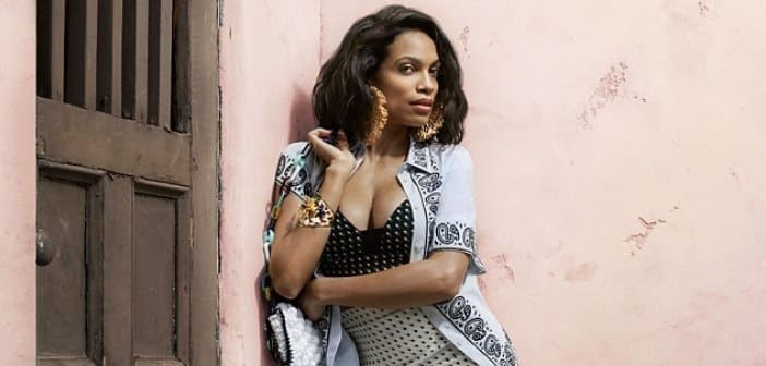 Rosario Dawson Goes To 'O Magazine' To Help Her Honor Her Cuban Heritage With Havana Nights-inspired photoshoot