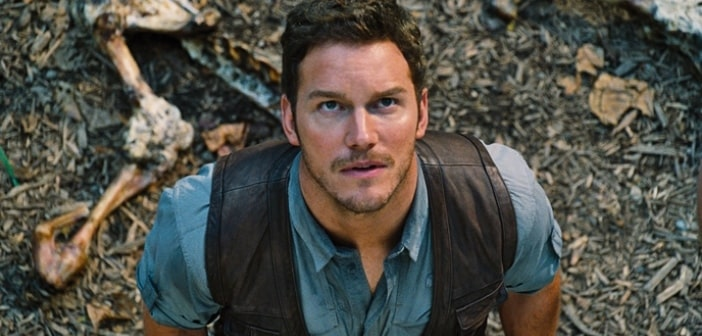 JURASSIC WORLD Chris Pratt Runs For His life In New Clip