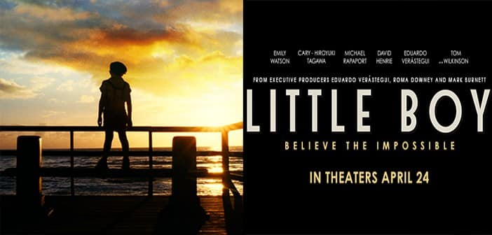 LITTLE BOY – Premiere Pass Giveaway Sweepstakes