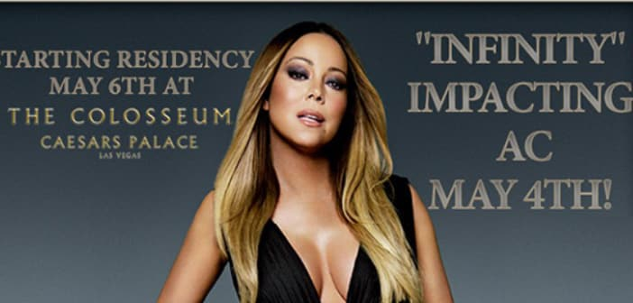 "MARIAH CAREY ""INFINITY"" ARRIVING MONDAY 4/27 2"