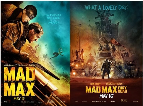 Mad Max Fury posters