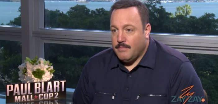 Kevin James Interview - Paul Blart: Mall Cop 2 - ZayZay.Com