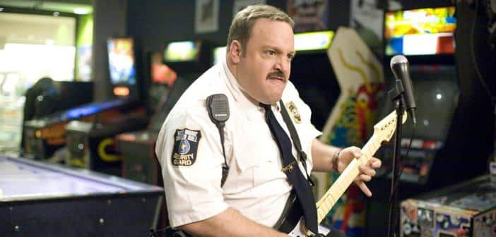 PAUL BLART MALL COP 2 - Kevin James Honored by Miami Walk of Fame