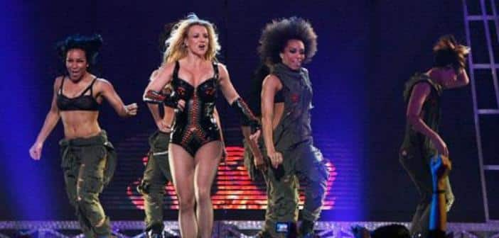 Britney Spears Sprains Her Ankle After Stumble During Las Vegas Show