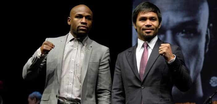 Floyd-Manny Match Sells Out Immediately After Tickets Go On Sale