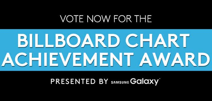 VOTING OPENS TODAY FOR THE BILLBOARD CHART ACHIEVEMENT AWARD 1