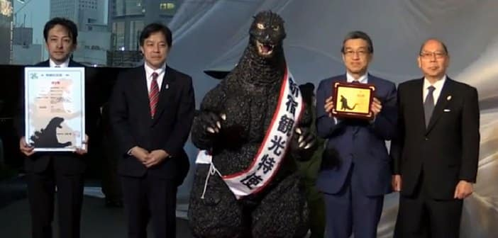 The King Of The Monsters Gets National Recognition After Tokyo Appoints Godzilla As Ambassador