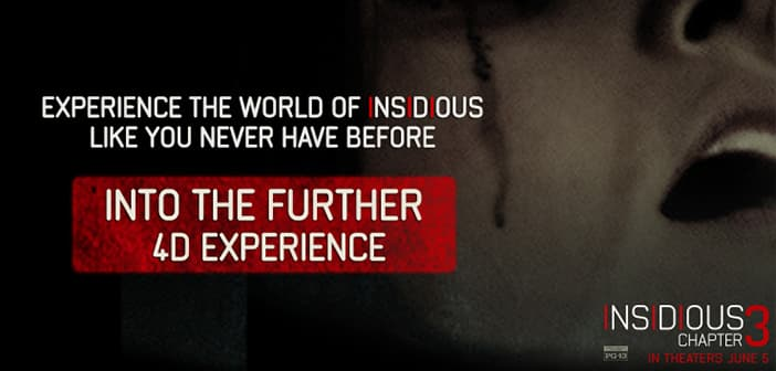 INSIDIOUS: CHAPTER 3 invites you to the Oculus Rift Experience - Are you ready or this? 2