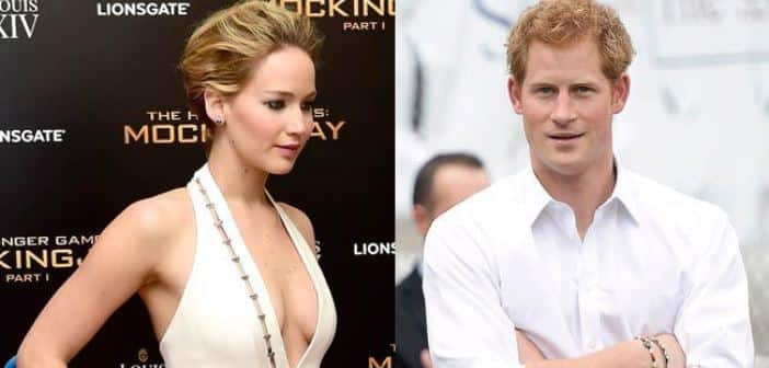 Jennifer Lawrence Turns Down Prince Harry's Invitation To Dinner