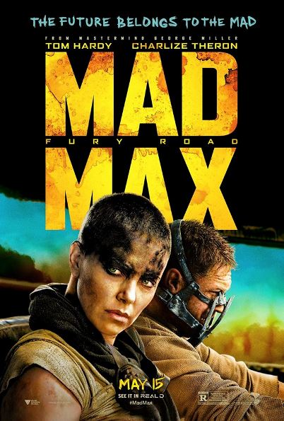 mad max fury road official poster