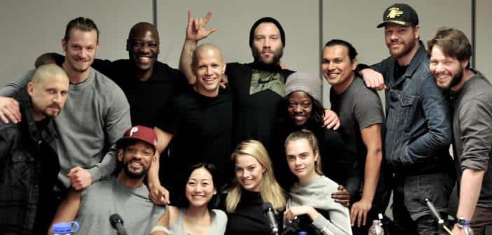 : Director David Ayer Tweets Pic  Of His 'Suicide Squad' Cast