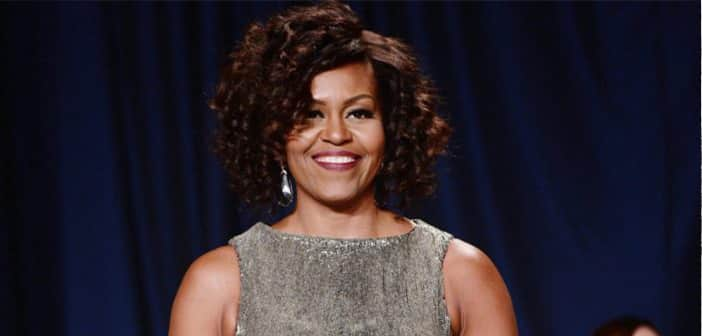 First Lady Michelle Obama's Curly 'Do Turns Heads