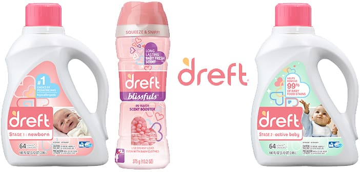 Dreft welcomes families to the big, messy, beautiful journey of #Amazinghood with its new line of laundry care products. 4