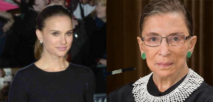 Natalie Portman To Star As Supreme Court Justice Ruth Bader Ginsburg
