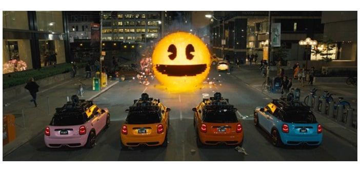 Pixels Pac-man bday