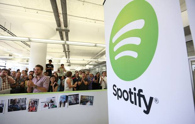 Spotify Under Pressure From Industry Universal and Sony To Take Away Its Free Streaming Service