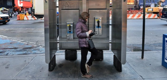 Google Bringing Free Wifi Worldwide By Recycling Old Phone Booths into Wifi Hubs