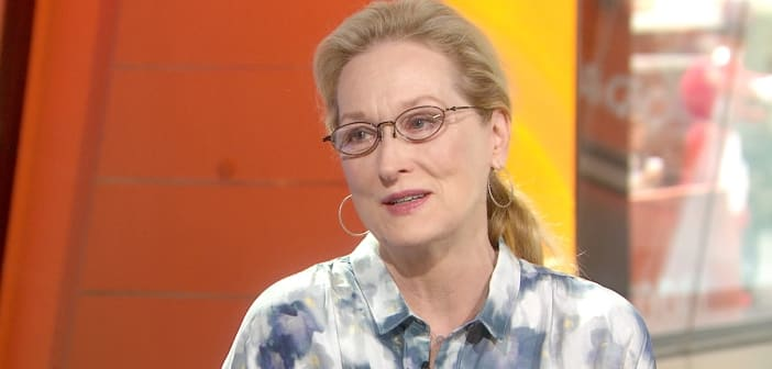 Meryl Streep asks Congress to Revive The Equal Rights Amendment