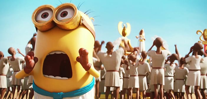 MINIONS Official Spanish and English Postes is out! 3
