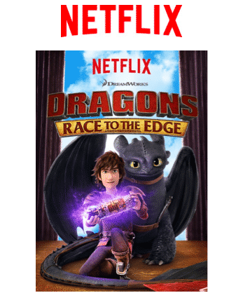 Netflix Original Series DRAGONS RACE TO THE EDGE