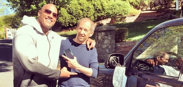 Vehicle Owner Doesn't Let Dwayne Johnson Pay After The Actor Sideswipes His Car