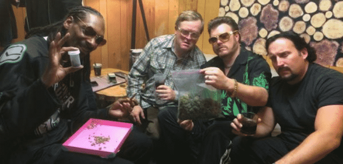 Snoop Dogg Makes Appearance (And Role) Filming With Trailer Park Boys