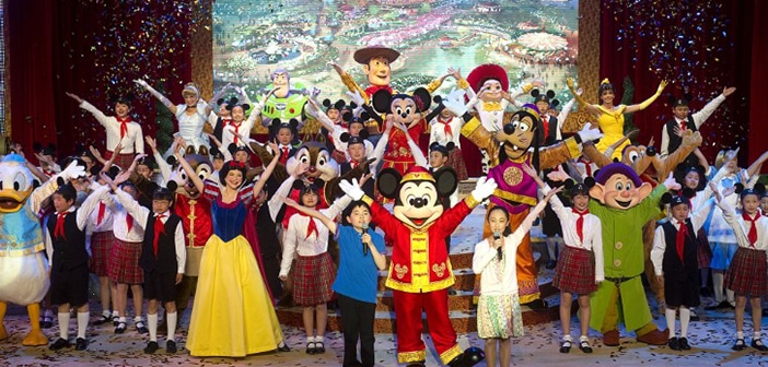 Walt Disney Co. Showcases Plans And Attractions For New Shanghai Disney World 2