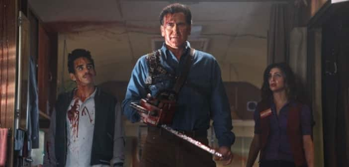 ASH VS EVIL DEAD - Official Poster and Photos! 1