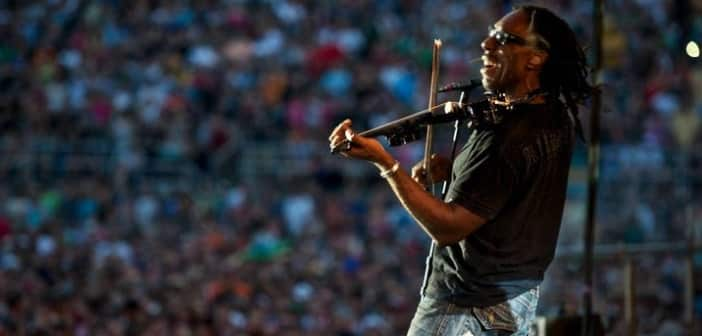 Boyd Tinsley Braves Rock Frontier With Electric Violin