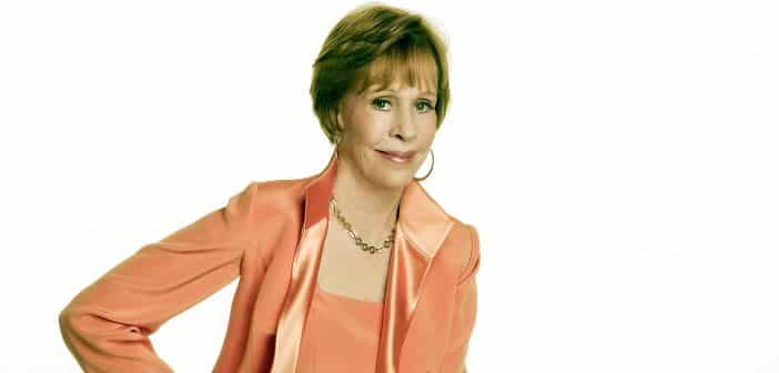 SAG To Honor Carol Burnett With Lifetime Award