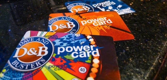 CLOSED--PIXELS - Dave & Busters Gift Card Promotion 1