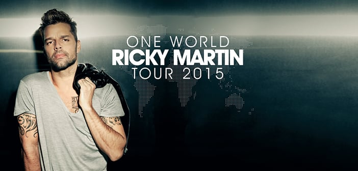 "Ricky Martin Announces Announces Special Guests  For His ""One World Tour"""