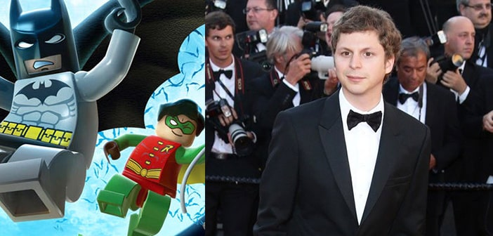 'Lego Batman' Is Happening, With Michael Cera To Voice Boy-Wonder Robin