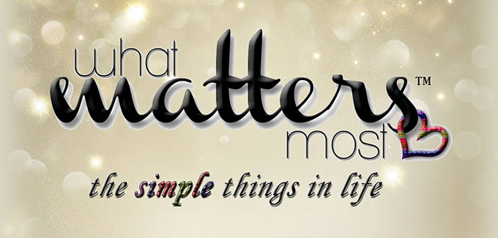 What Matters Most – TV with a Positive Mission