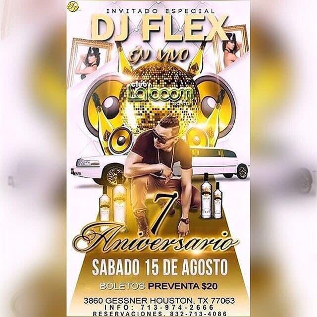 dj flex invite