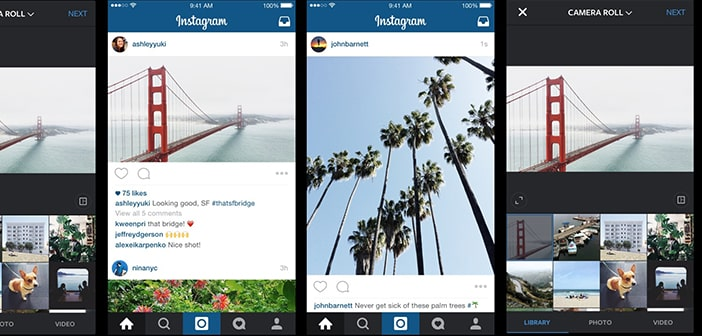 Instagram Renovates Its Picture Design, Uploaded Pictures No Longer Need To Be Square