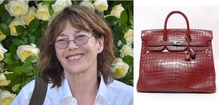 Jane Birkin Says No To Associating Her Name With Hermes' Crocodile Handbag