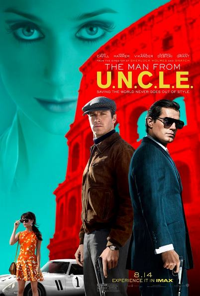 man from uncle - poster