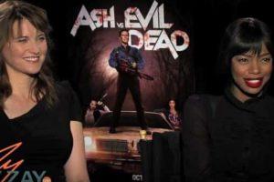 Ash vs Evil Dead - Lucy Lawless & Jill Marie Jones - ZayZay.Com