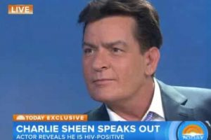 Charlie Sheen Admitted To Being HIV positive On the 'Today' show 2