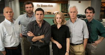 Michael Keaton, Liev Schreiber, Mark Ruffalo, Rachel  McAdams, John Slattery, and Brian d'Arcy James in SPOTLIGHT